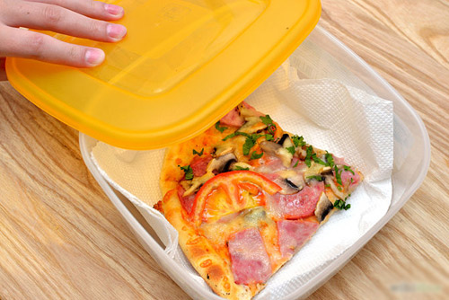 Mẹo bảo quản và làm nóng lại pizza